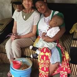 Aldona und Mama Martin