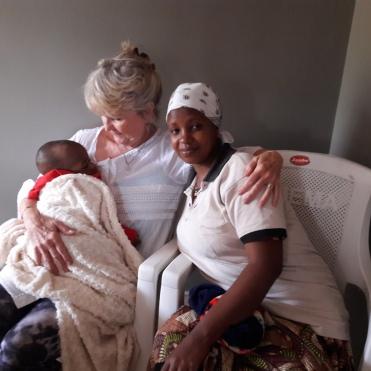 Mama Martin mit Patti