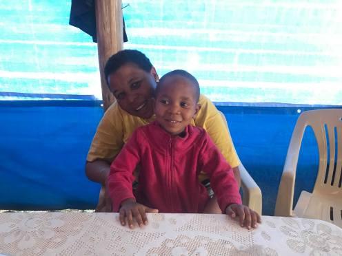 Bertha with Baraka